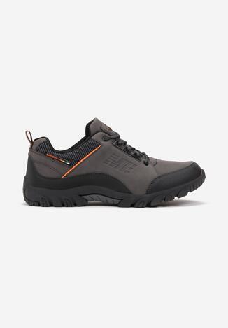 Pantofi sport Gri cu portocaliu