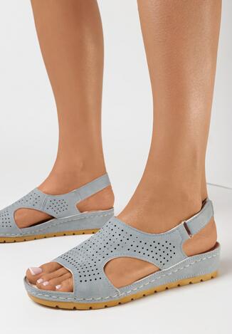 Sandale Albastru deschis