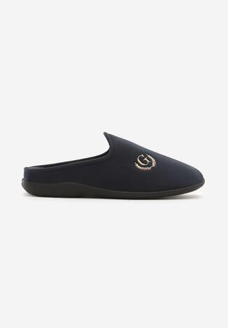 Papuci de casă Bleumarin