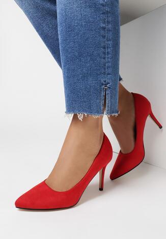 Pantofi stiletto Roșii