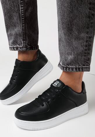 Pantofi sport Negru cu alb