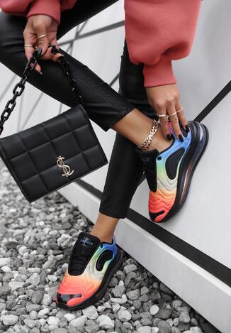 Sneakers Negru cu rosu