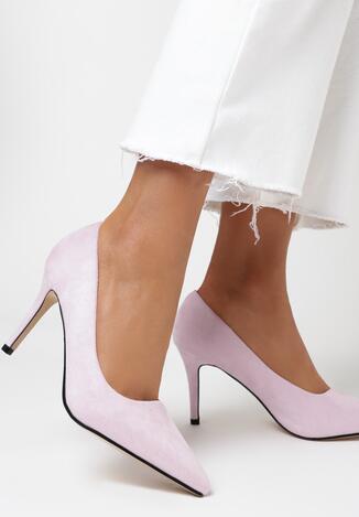 Pantofi stiletto Mov