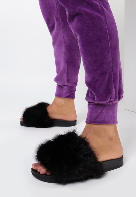 Papuci de casă Negri