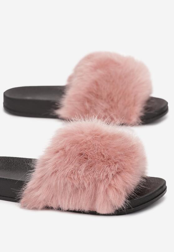 Papuci de casă Roz închis