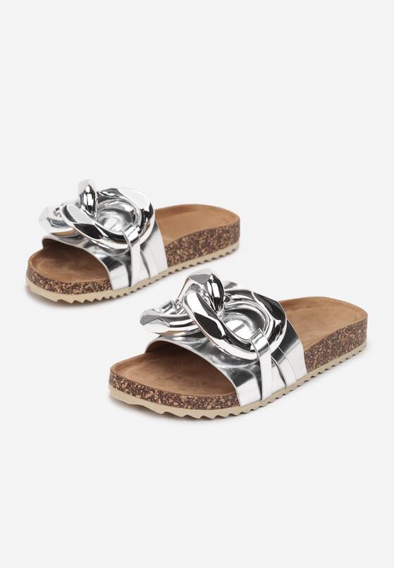 Papuci Argintii