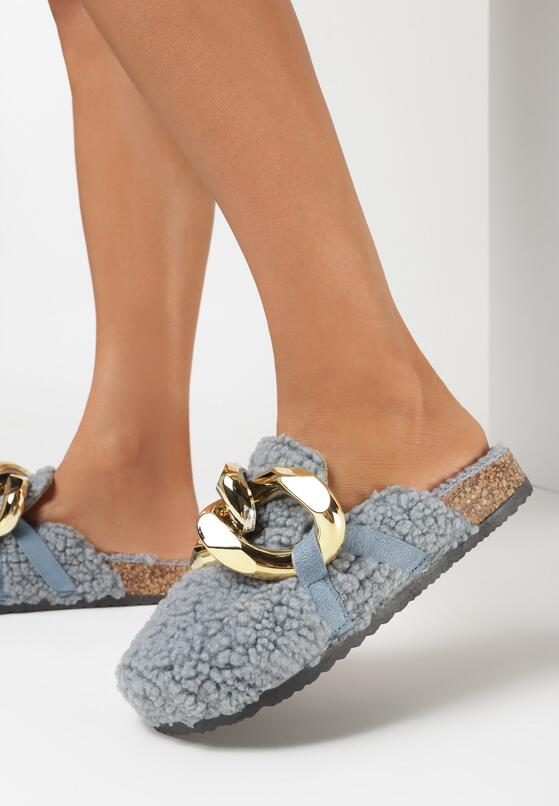 Papuci de casă Albaștri