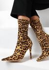 Botine Print leopard