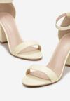 Sandale Galben deschis