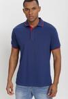 Tricou Bleumarin cu roșu