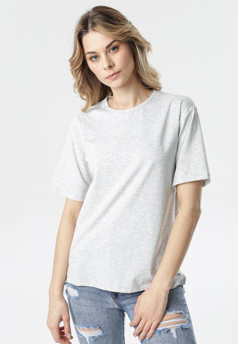 T-shirt Gri deschis