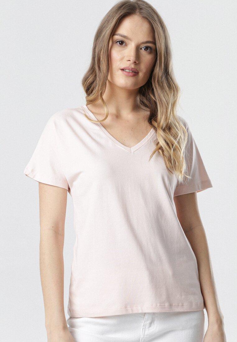 T-shirt Roz deschis