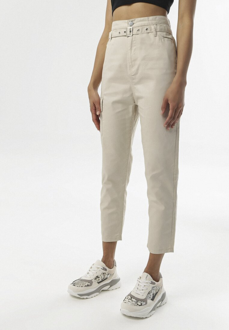 Pantaloni Bej