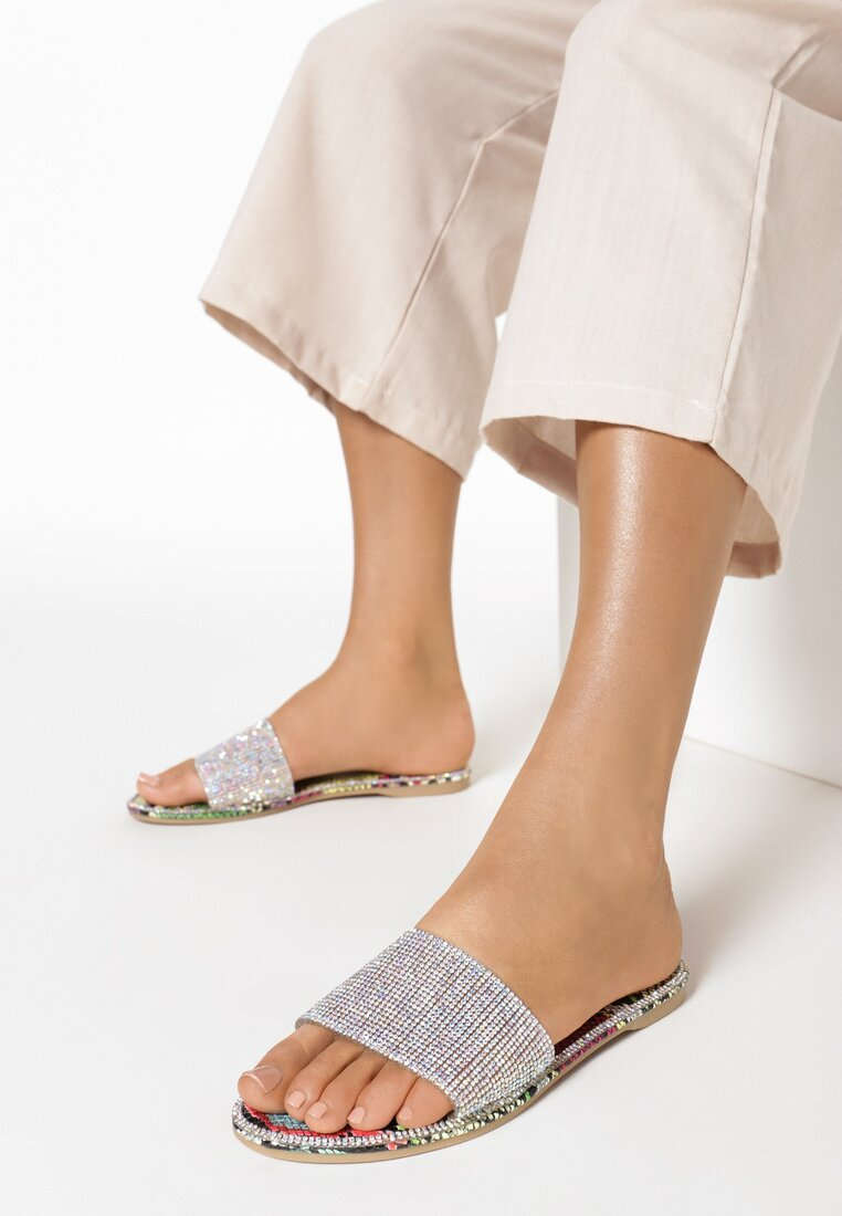 Papuci Culori mixte
