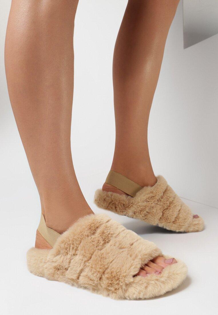 Papuci de casă Roz somon