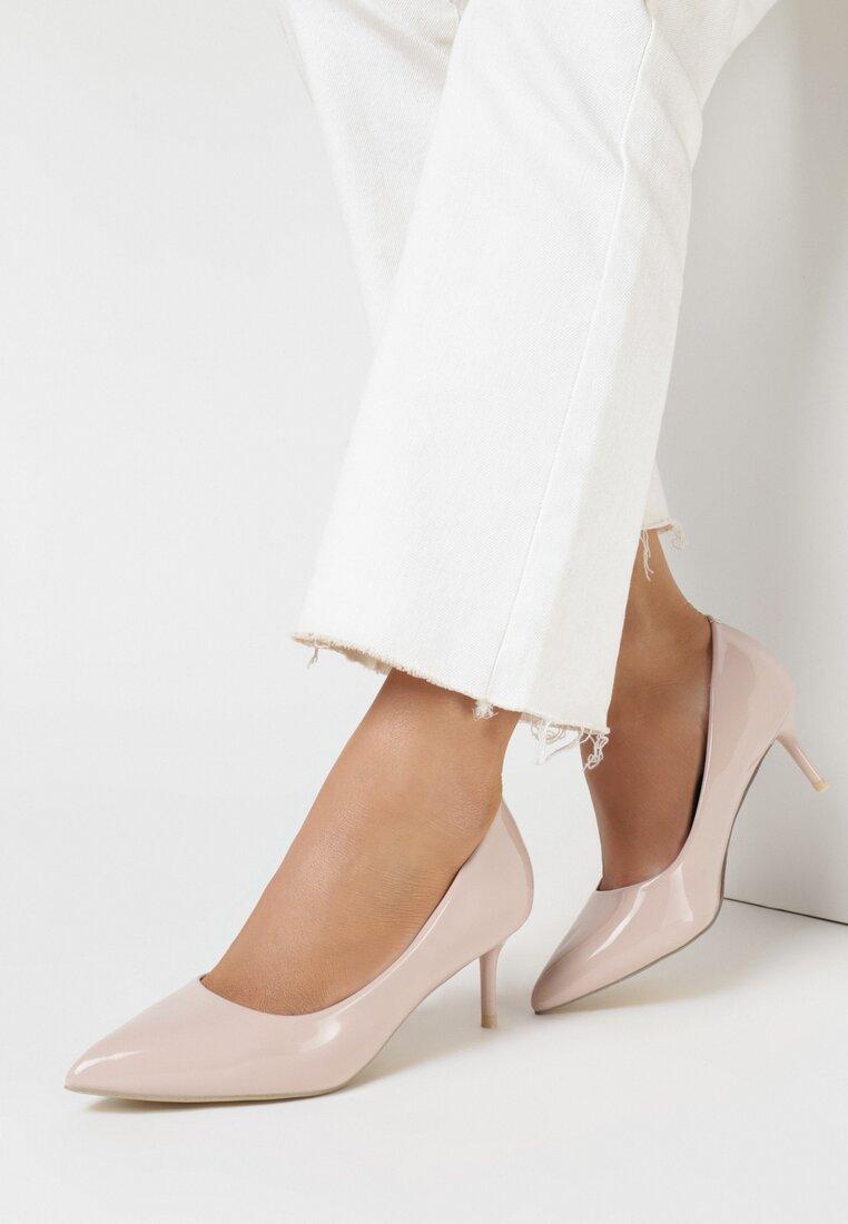 Pantofi stiletto Roz