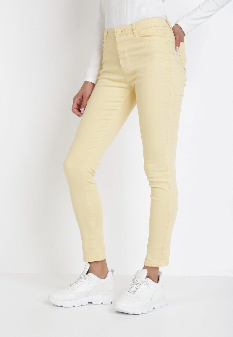 Pantaloni Galben deschis