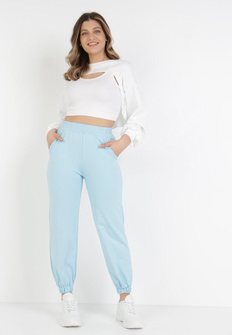Pantaloni Albaștri