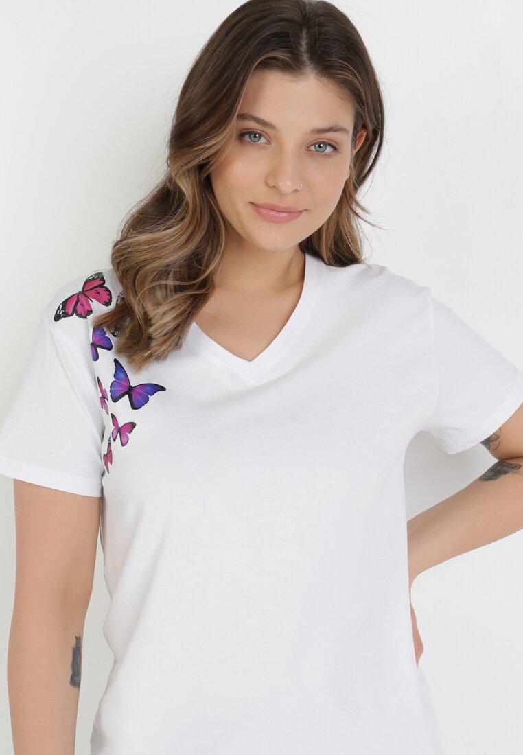 T-shirt Alb