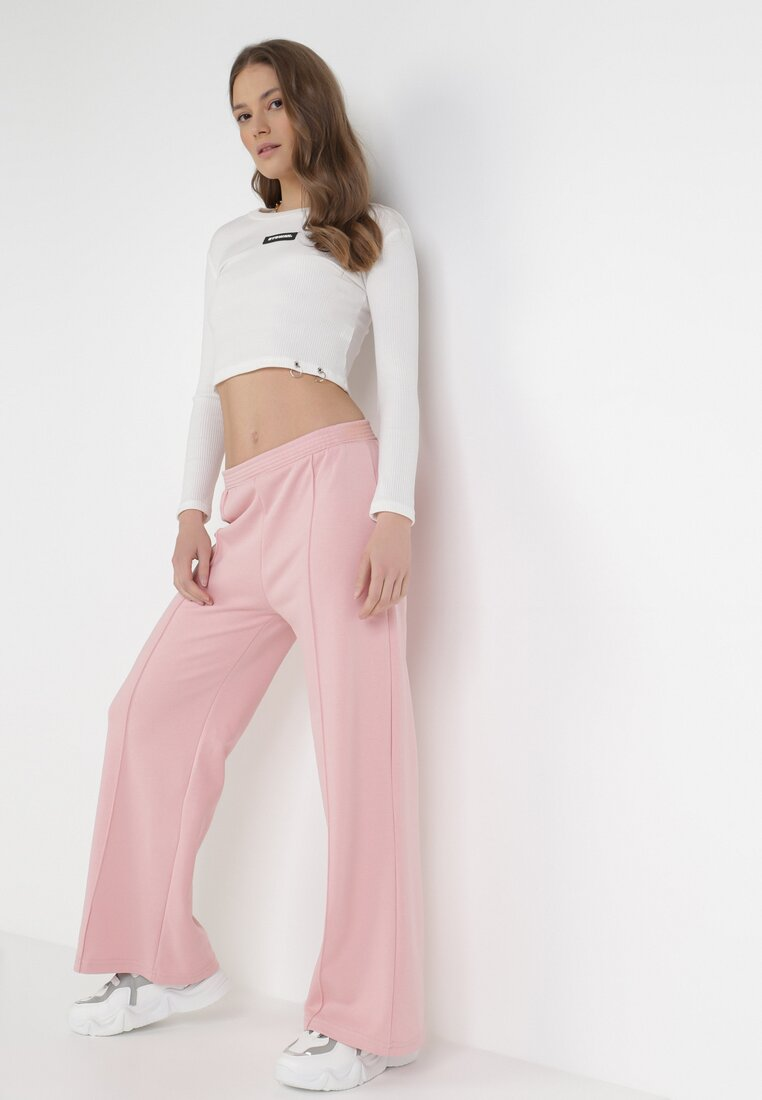 Pantaloni Roz deschis