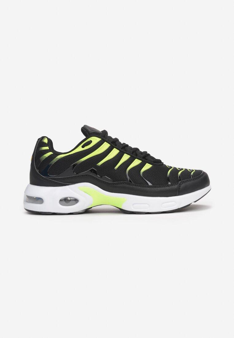 Pantofi sport Negru cu verde