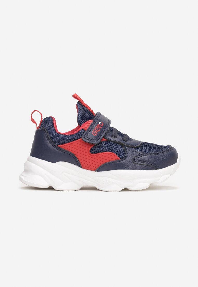 Pantofi sport Albastru cu roșu