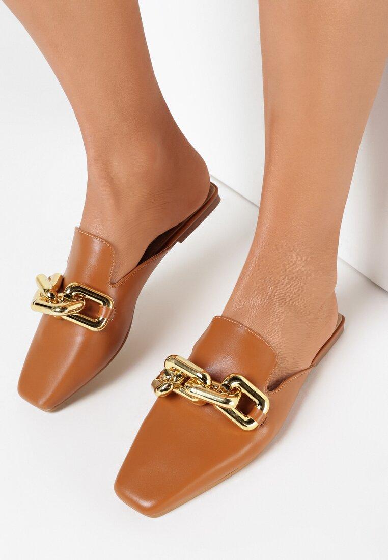 Papuci Camel