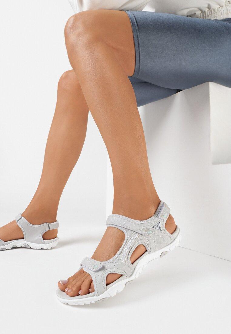 Sandale Gri deschis