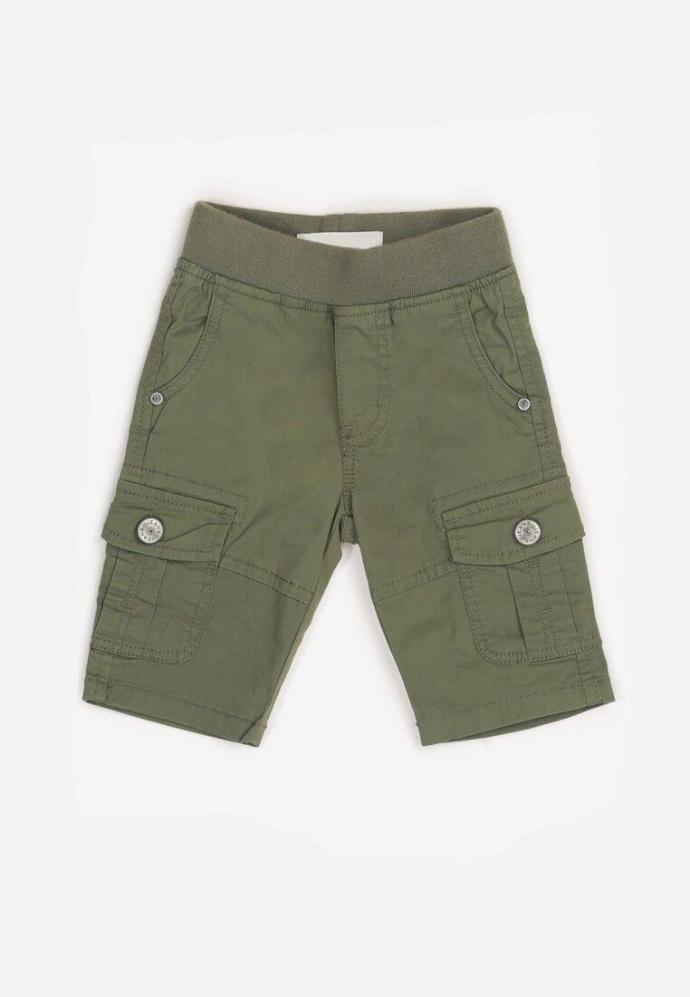 Pantaloni scurți Verde închis
