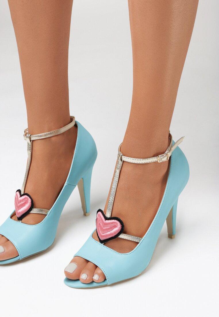 Pantofi stiletto Albaștri