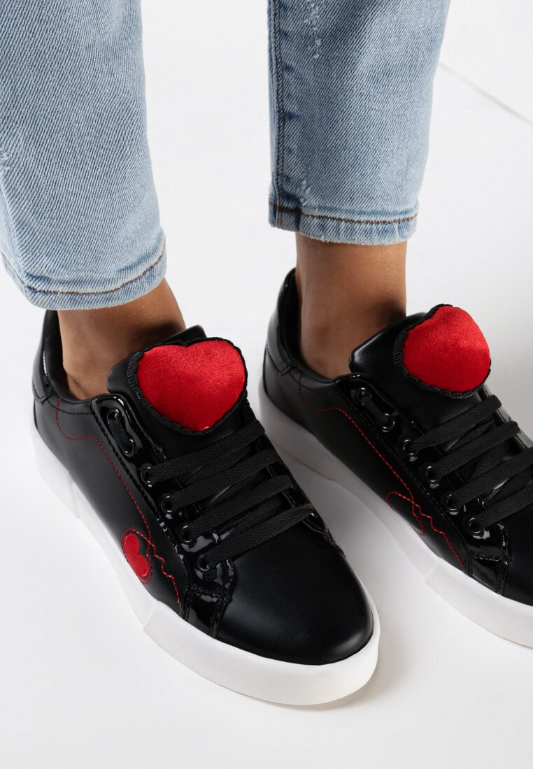 Pantofi cu talpa groasă Negri