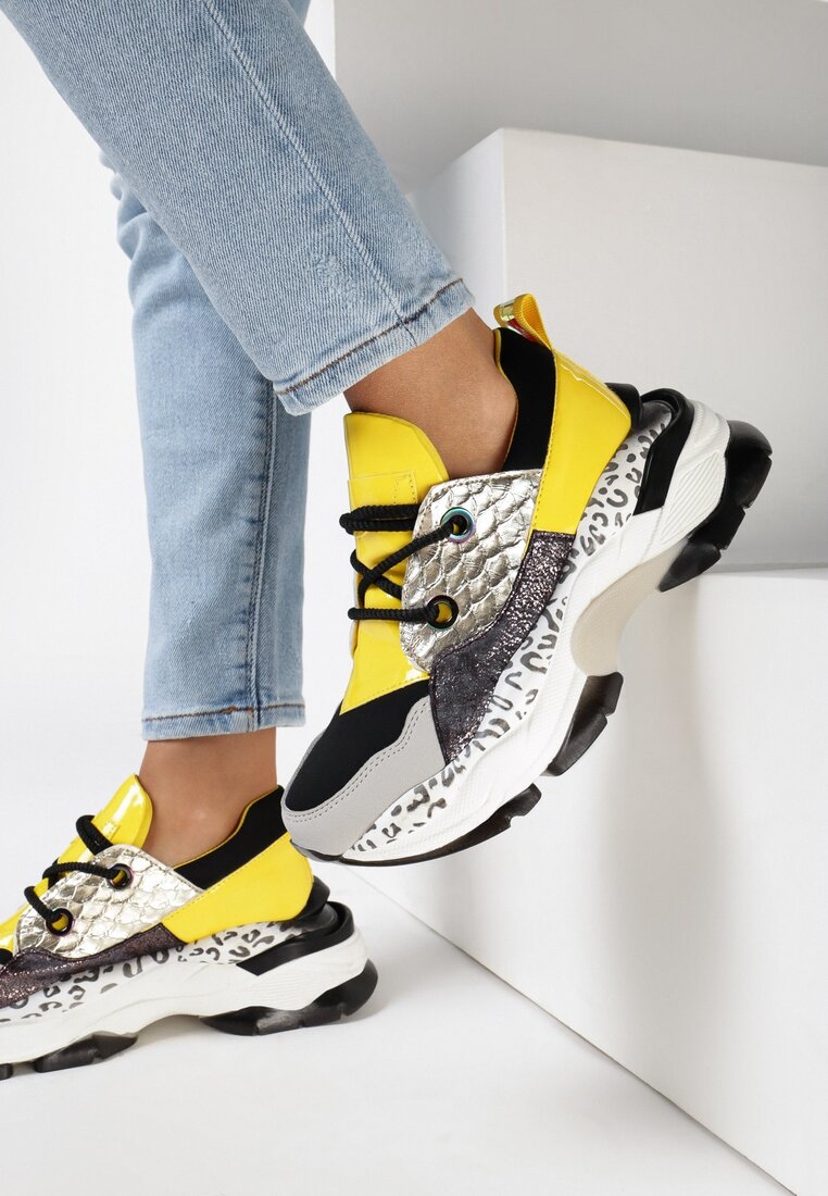 Sneakers Galbeni